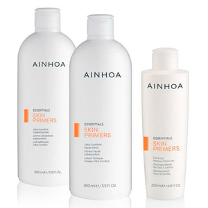 AINHOA SKIN PRIMERS SET : MILK CLEANSER + TONER + EYE MAKE UP REMOVER