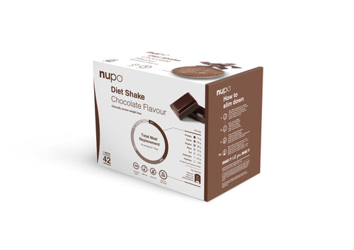 NUPO DIET SHAKES VALUE PACK : Box of 42 sachets
