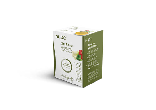 NUPO DIET SOUPS : Box of 12 sachets