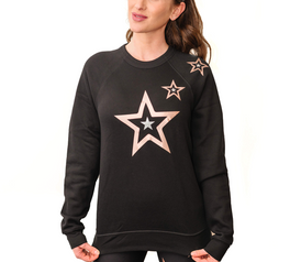 Load image into Gallery viewer, Boyfriend Duochrome Pop Star Sweatshirt