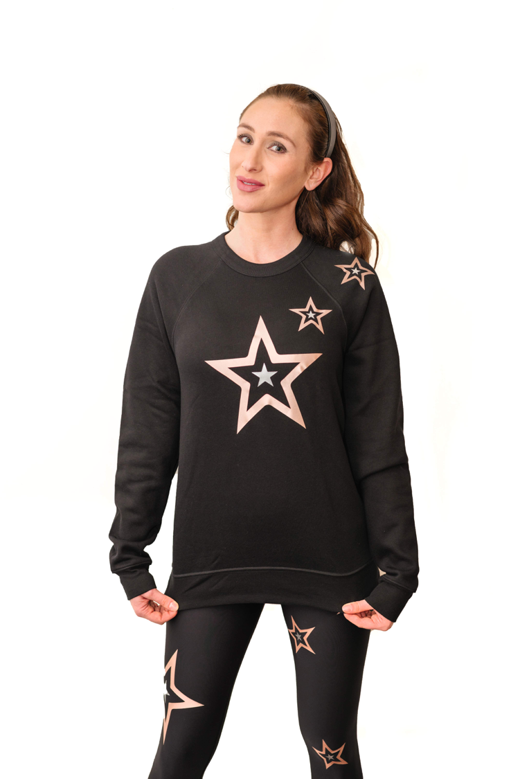 Boyfriend Duochrome Pop Star Sweatshirt