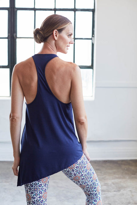 Asymmetrical Flow Tank- Navy
