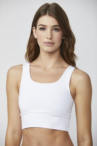 Elevate Bra-White