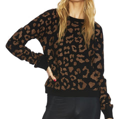 Load image into Gallery viewer, Reverse Leopard Sweater