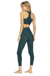 Rib Legging- Emerald Green