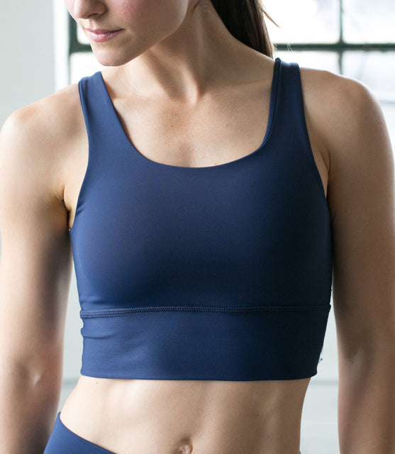 Elevate Bra - Navy