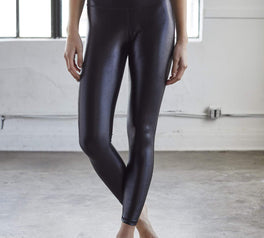 Load image into Gallery viewer, High Shine Signature Black Legging