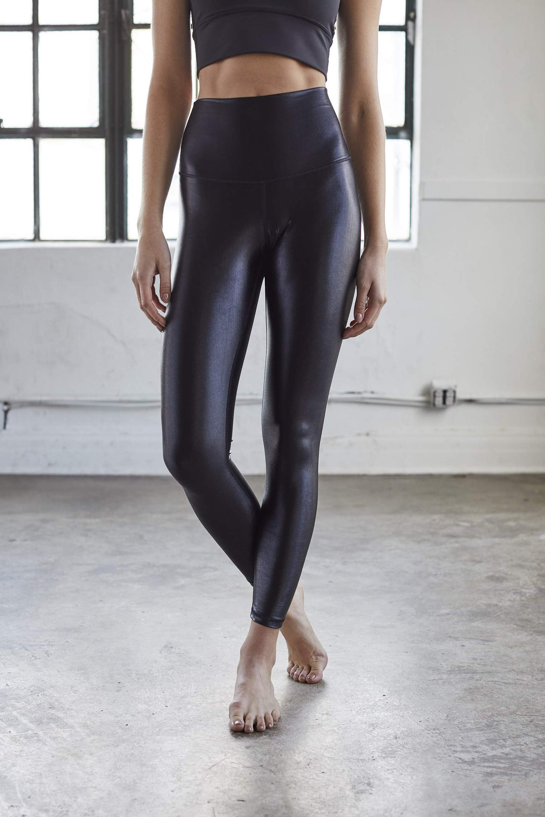 High Shine Signature Black Legging