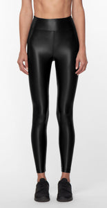 Lustrous High Rise Legging Black
