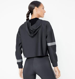 Meta Crop Hoddie Long Sleeve