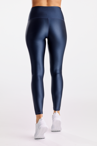 High Shine Signature Tight -Navy