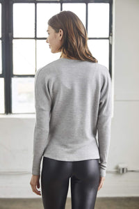 Traverse Top - Heather Grey