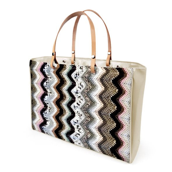 Tracy Patricia Crochet Pattern Fifth Avenue Carryall City Tote