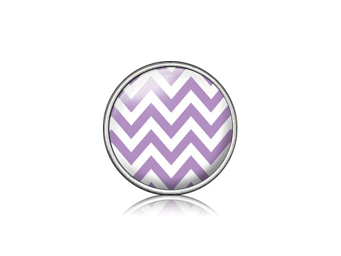Chevron Purple / Silver