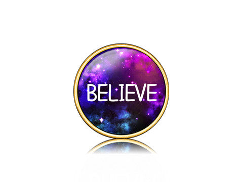 Believe / Galaxy 18k Gold