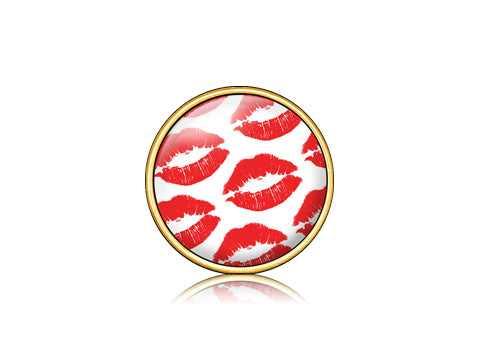 Kiss Red / 18k Gold