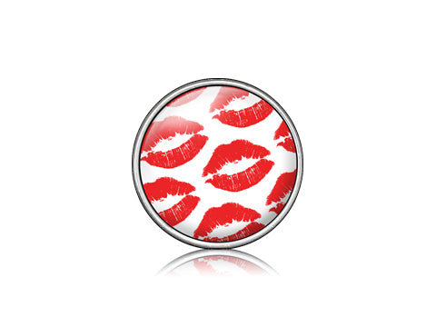 Kiss Red / Silver