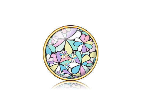 Super Luck Pastel / 18k Gold