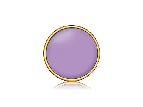 Purple / 18k Gold