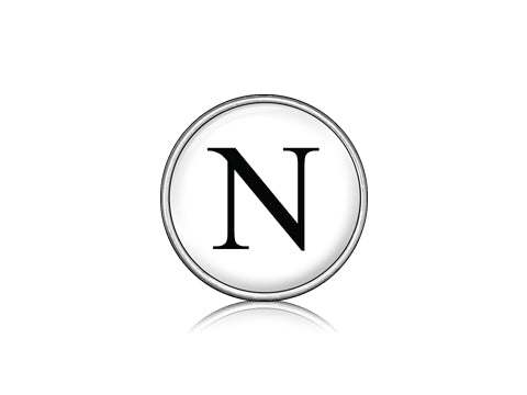 "Classic ""N"" White / Silver"