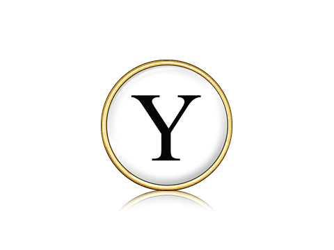 "Classic ""Y"" White / 18k Gold"