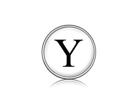 "Classic ""Y"" White / Silver"