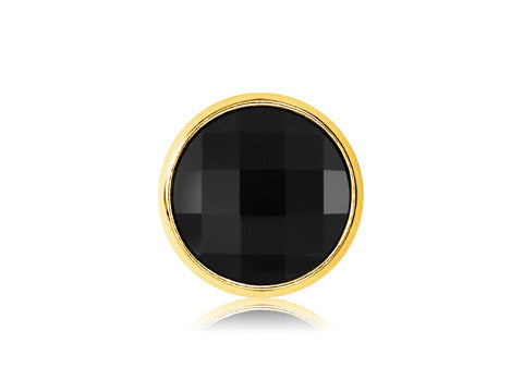 Swarovski Black Gem / 18k Gold