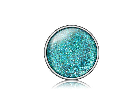 Glitter Turquoise / Silver