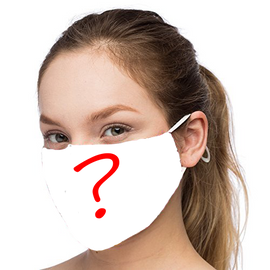 Mystery Design - Non-Pleated Mask