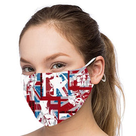 Brit Design - Non-Pleated Mask