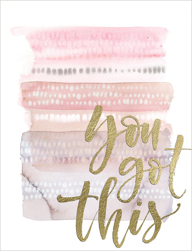 Friendship Card - You Got This - Nikki Chu