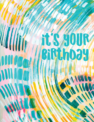 Birthday Card - Let's Get Weird - Ettavee