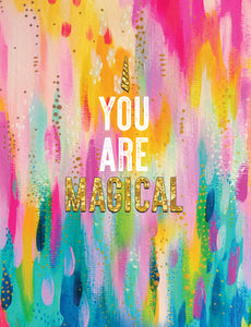 Unicorn Birthday Card - You Are Magical - Ettavee