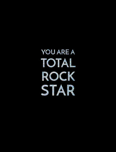 Congratulation Card - Total Rock Star