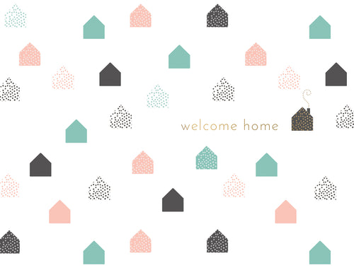 Welcome Home - New Home Card