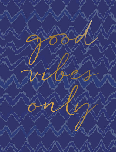Good Vibes Only Birthday Card 0004.05083