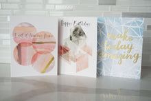 Load image into Gallery viewer, Birthday Card - Make Today Amazing - Nikki Chu