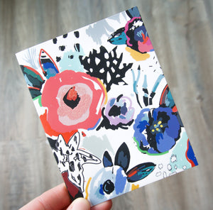 Flowers - Birthday Card