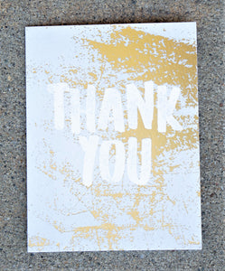 Thank You Card - Thank You