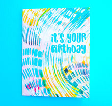 Load image into Gallery viewer, Birthday Card - Let's Get Weird - Ettavee