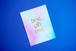 Best Gift Ever Baby Card