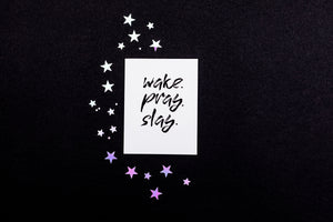 Friendship Card - Wake Pray Slay - Nikki Chu
