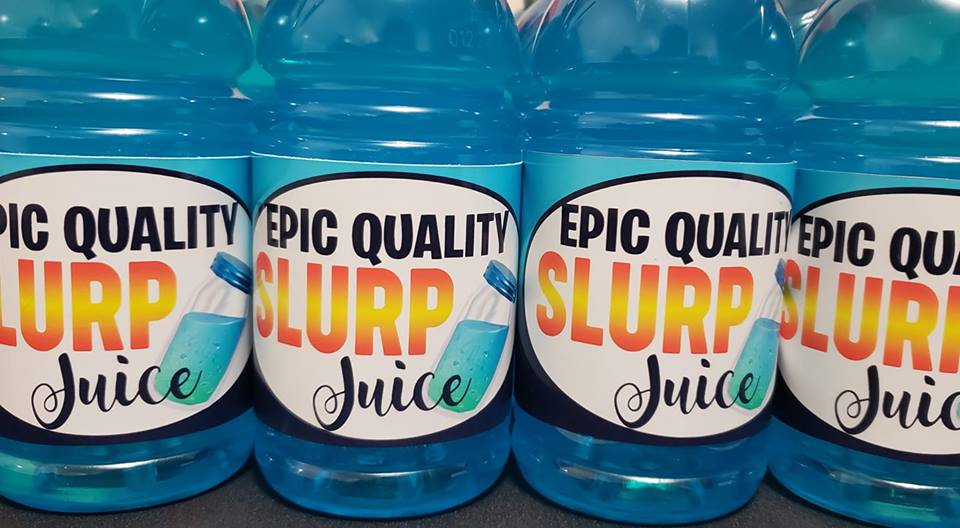 FORTNITE INSPIRED SLURP JUICE- Mini Gatorade label-DIGITAL
