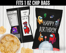 Load image into Gallery viewer, AMONG US CHIP BAG 2- INSTANT DOWNLOAD
