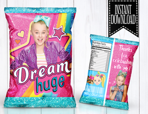 JOJO SIWA CHIP BAG- DIGITAL