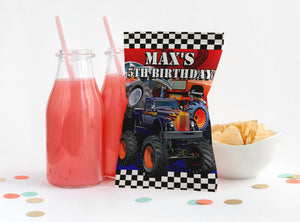 EDIT YOURSELF- MONSTER TRUCK 3 CHIP BAG