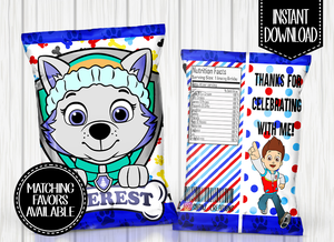 PAW PATROL- EVEREST CHIP BAG DIGITAL ONLY