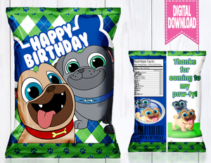 PUPPY DOG PALS CHIP BAG-DIGITAL