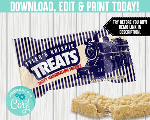 EDIT YOURSELF- TRAIN MARSHMALLOW SQUARES