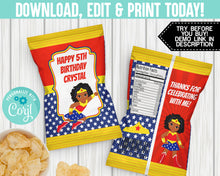 Load image into Gallery viewer, EDIT YOURSELF- WONDER GIRL CHIP BAG